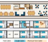 Princesse Royal floor plan