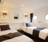 Magnifique  cabin twin lower deck