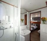 Magnifique cabin twin bathroom