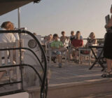 Magnifique exterior deck guests