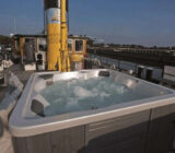 Princesse Royal exterior deck jacuzzi