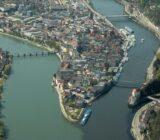Passau tri river corner
