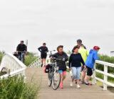 Kinderdijk guests visit bridge