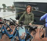 Cyclists at Zaandam