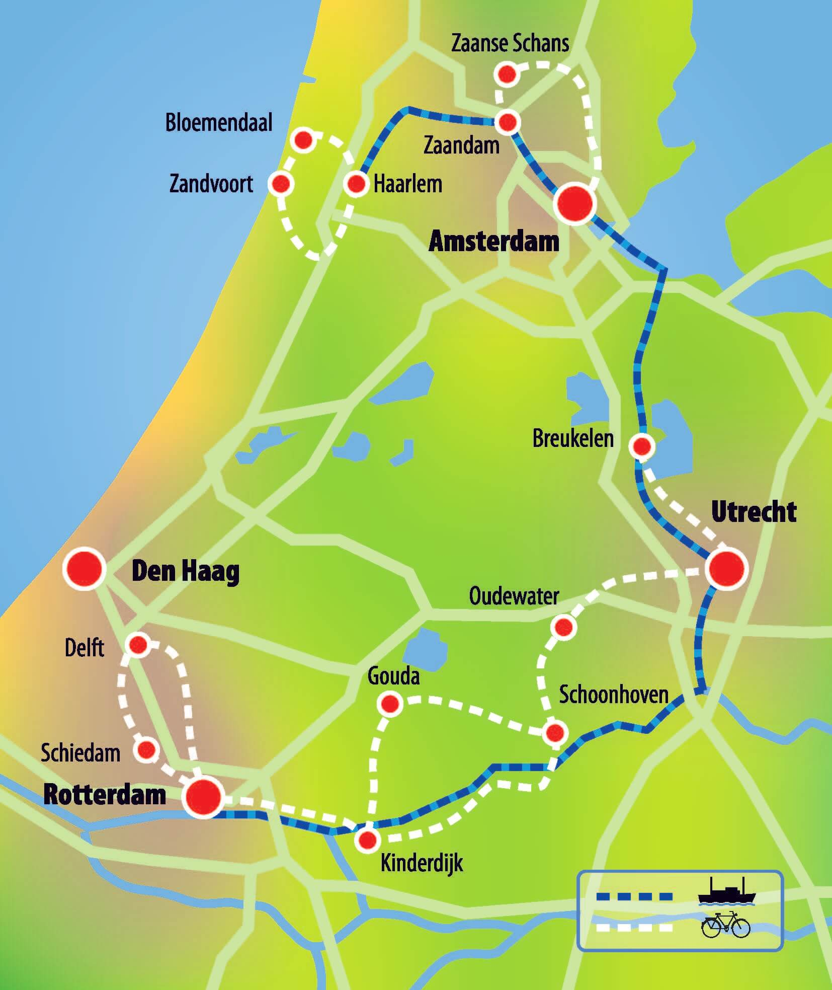 Netherlands: Southern Tour of Holland