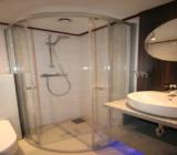 Fluvius bathroom shower cabin