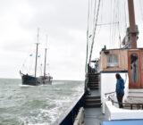 Mare fan Fryslan en Wapen fan Fryslan sailing