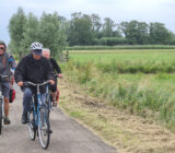 Cyclists to Schoonhoven guided