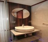 Fluvius bathroom cabin