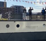 Guests on the deck of the Magnifique IV