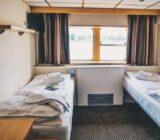 Lower deck twin cabin