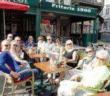 Bruges Grote Markt terrace