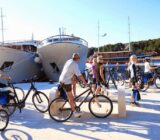 Croatia South Dalmatia cyclists