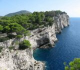 Croatia Telascica cliff