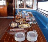 Croatia aboard ship food