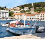 Croatia local harbor