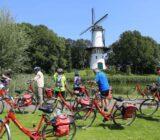 Cyclists Tholen