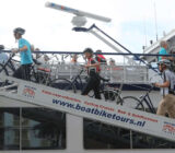 Cyclists at De Amsterdam