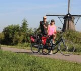 Cyclists windmill
