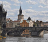 Czech Republic Prague Charles bridge