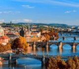 Czech Republic Prague bridges