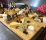 A cheese plate