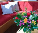 Fresh and colourful flowers