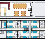 Floor plan Flora