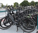 Lots of bicycles and e-bikes