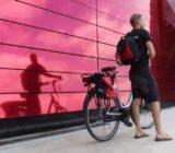 France Bordeaux cyclists wine house