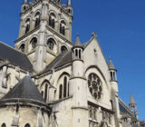 France Champagne Epernay cathedral