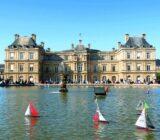 France Champagne Paris Jardin de Luxembourg