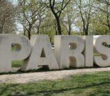 France Champagne Paris sign