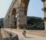 France Provence Camargue cyclist