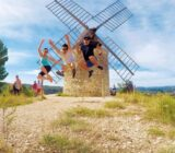 France Provence Camargue roman windmill