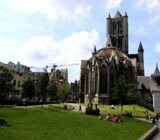 Ghent Nicolas church