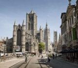 Ghent city centre church