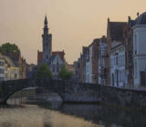 Ghent houses near water