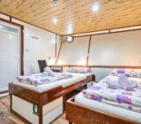Twin cabin below deck
