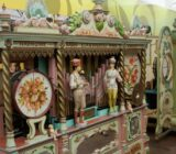 Italy Venice Mantua Carousel museum in Bergantino