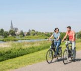 Cycling by Kampen
