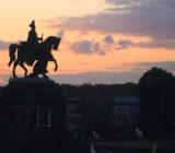 Koblenz statue Kaiser Wilhelm