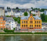 Koblenz view on the river