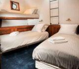 Leafde fan Fryslân cabin twin extra bed