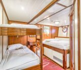 Quadruple cabin double+bunk