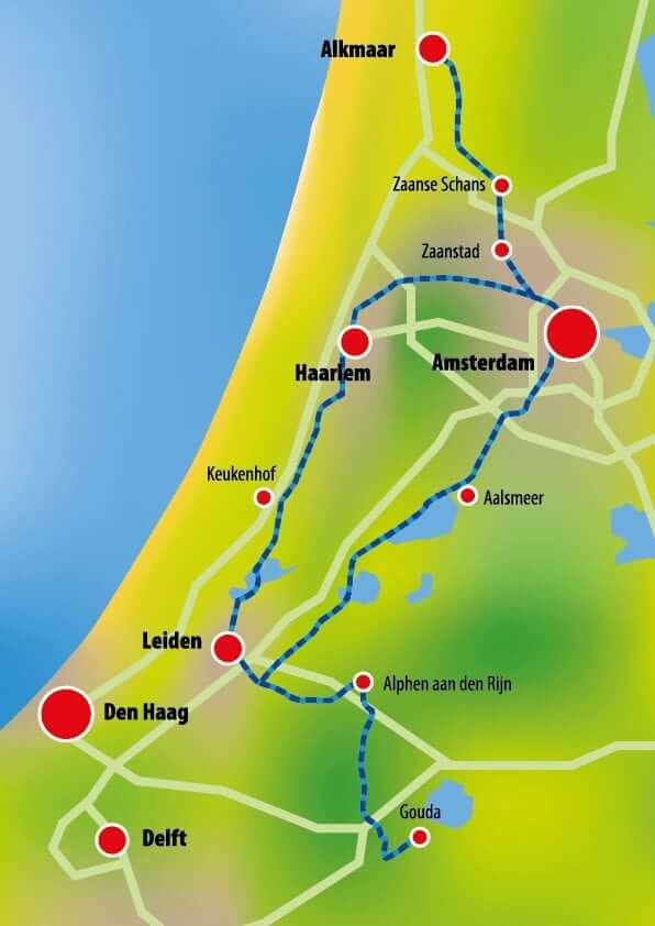 Netherlands 8 Day Tulip Tour Boat Bike Tours