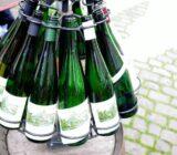 Wine empty bottles