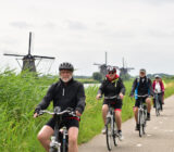 Kinderdijk  cyclists
