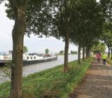 Sarah in Rijnkanaal