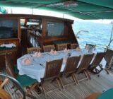 Deriya Deniz exterior deck dinner